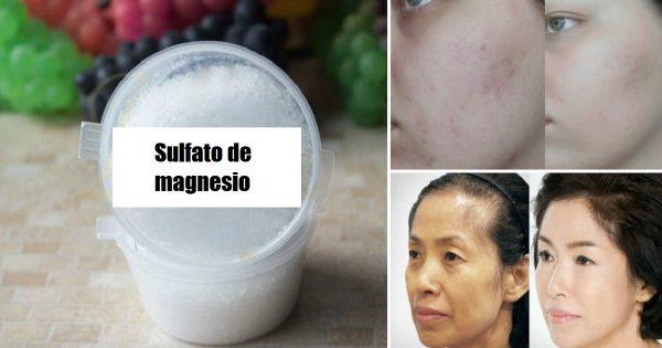 El sulfato de magnesio es muy útil en la medicina, pero…  ¡Quién iba a decir que también tiene otros beneficios!