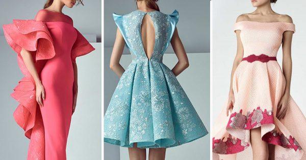 Para la boda, graduación o una noche de fiesta... 31 ideas de vestidos de noche del gurú del diseño de moda.