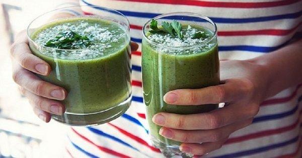 «Cóctel verde de yogur», una bebida «celestial» que te librará de libritas de más en un santiamén…